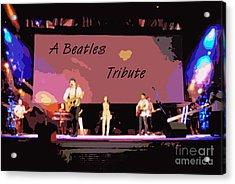A Beatles Tribute Acrylic Print by Renee Trenholm