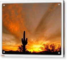 A Beautiful Start To The Day Acrylic Print