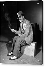 A Bedtime Story, Maurice Chevalier, 1933 Acrylic Print by Everett