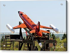 A Bqm-167a Subscale Aerial Target Acrylic Print by Stocktrek Images