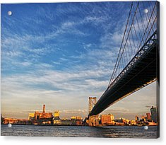A Bridge To Williamsburg Acrylic Print