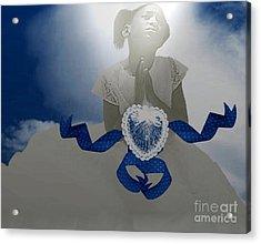 A Child's Prayer Acrylic Print