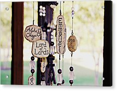 A Chime For God Acrylic Print by Hannah Miller
