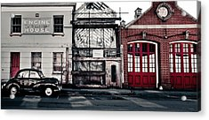 A Classic Fire Acrylic Print