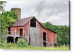 A Cloudy Day Acrylic Print by JC Findley