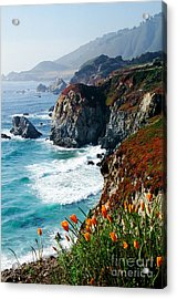 A Coastal High Acrylic Print
