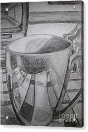 A Cup Of Reflections Acrylic Print
