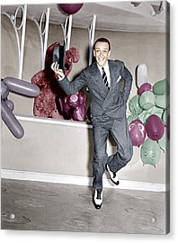 A Damsel In Distress, Fred Astaire, 1937 Acrylic Print by Everett