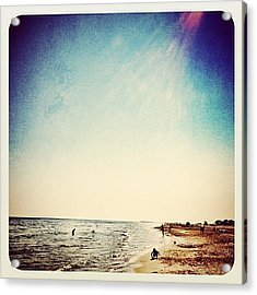 A Day At The #beach 2 Months Ago Acrylic Print by Wilbert Claessens