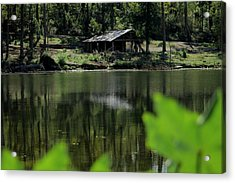A Day By The Lake Acrylic Print by Bobby Martin