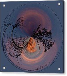 A Different Sunset Acrylic Print by Sandi Blood