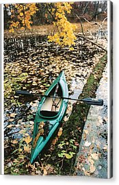 Acrylic Print featuring the photograph A Fall Harvest by Gerald Strine