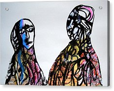 A False Claim Acrylic Print by Aquira Kusume