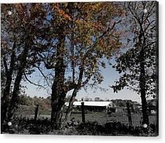 A Focal Setting  Acrylic Print by Kim Galluzzo Wozniak
