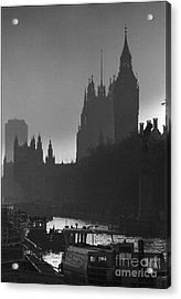 A Foggy Day In London Acrylic Print by Aldo Cervato