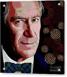 Acrylic Print featuring the painting A Gentleman by Jann Paxton