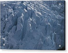 A Glacier Icefall From The Cordillera Acrylic Print by Gordon Wiltsie
