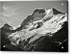 A Glacier In Jasper National Park Acrylic Print by RicardMN Photography