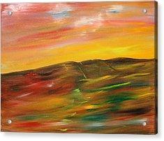 A Glimpse Acrylic Print by James Bryron Love