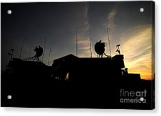 A Ground Control Station Which Operates Acrylic Print