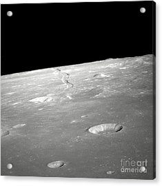 A High Forward Oblique View Of Rima Acrylic Print by Stocktrek Images
