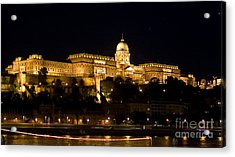 A King's Palace Acrylic Print by Syed Aqueel