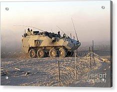 A Lav IIi Infantry Fighting Vehicle Acrylic Print