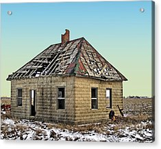 A Leaky Roof Acrylic Print