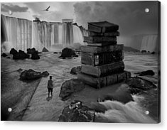 A Lifetime Of Learning Acrylic Print by Keith Kapple