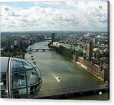 A London Eye's View Acrylic Print