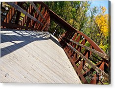 Acrylic Print featuring the photograph A Long Walk by Lawrence Burry