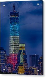 A Look At Freedom Acrylic Print by Susan Candelario