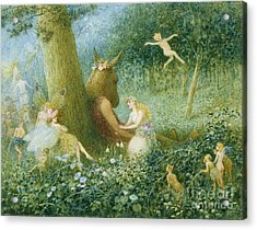 A Midsummer Night's Dream Acrylic Print by HT Green