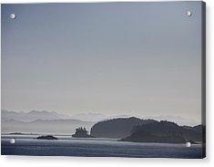 A Misty Afternoon On Haida Gwaii Acrylic Print by Taylor S. Kennedy