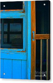 A Mom And Pop Stay On Topsail Island Acrylic Print