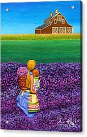 A Moment - Crop Of Original - To See Complete Artwork Click View All Acrylic Print