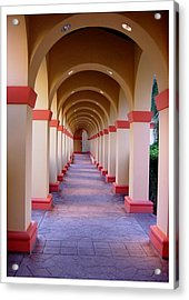 A Most Pleasant Passageway Acrylic Print by Frank Wickham
