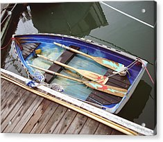 A Neat Boat Acrylic Print by Hiroko Sakai