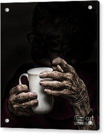 A Nice Cup Of Tea Acrylic Print by Avalon Fine Art Photography