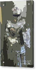 A Nightly Knight Acrylic Print by Karen Francis