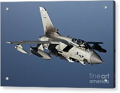 A Panavia Tornado Gr4 Of The Royal Air Acrylic Print by Gert Kromhout