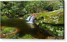 A Parallel View - Somesby Falls Acrylic Print