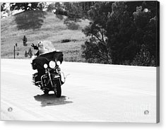 A Peaceful Ride Acrylic Print