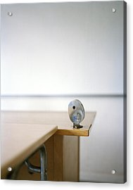 A Pencil-sharpener In A Classroom, Sweden Acrylic Print by Johner Images