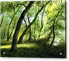 A Perfect Day Acrylic Print by Sergey Zhiboedov