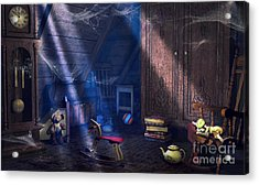 A Place Of Memories Acrylic Print by Jutta Maria Pusl