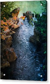 A Place Of Rest Acrylic Print by Bonnie Bruno