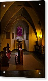 A Place To Pray Acrylic Print by Rick Bragan