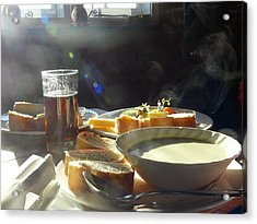 Acrylic Print featuring the photograph A Ploughman's Lunch by Rdr Creative