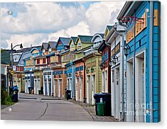 A Pretty Street In The Beach Acrylic Print